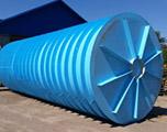 Горизонтальная подземная емкость на 65 кубов производство AlePlast